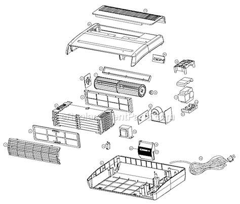 oreck aircom1b parts list and diagram ereplacementparts