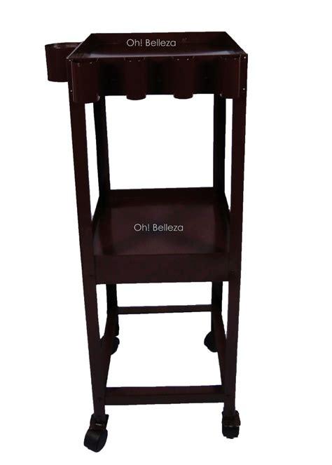 muebles  estetica mesa auxiliar de lamina
