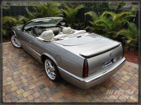 2000 cadillac eldorado convertible for sale purchase used 2000 cadillac eldorado etc convertible