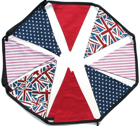 bedroom bunting flags union jack stars stripes flag bunting party shop or