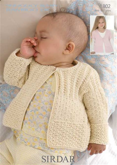 sirdar baby knitting patterns free sirdar 346 baby bamboo knitting pattern booklet