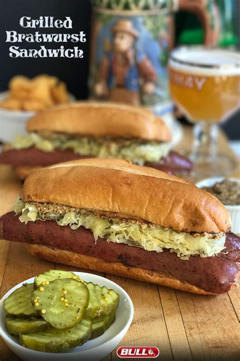 bratwurst sandwich under 30 minutes oktoberfest recipes grilled bratwurst