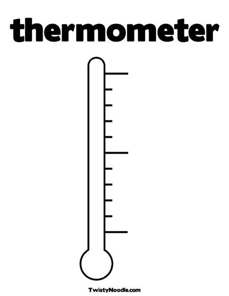 blank thermometer printable template html autos post