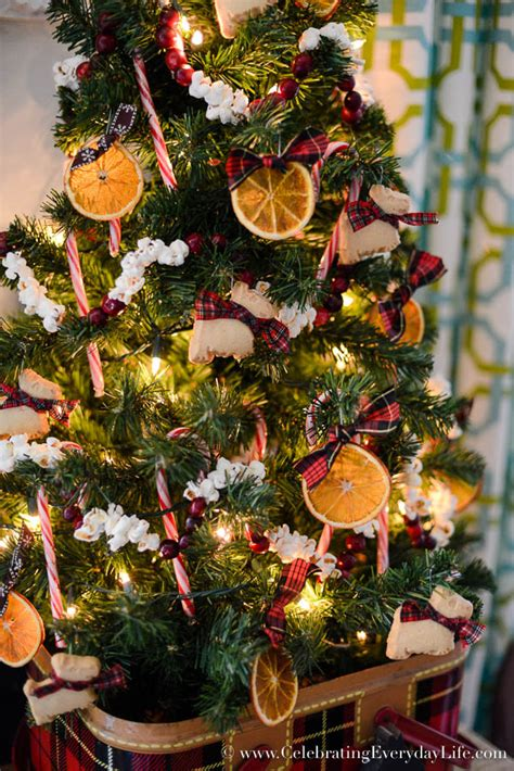 how to decorate a kitchen christmas tree celebrating