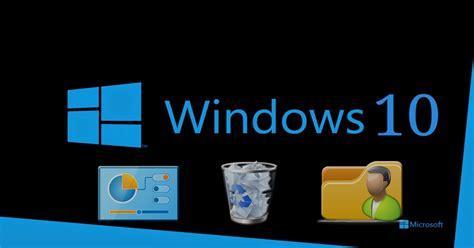 windows 10 imagenes de escritorio c 243 mo ocultar los iconos del sistema en el escritorio de