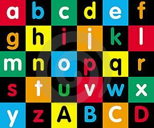 Alphabet Berdiri Indonesia Untuk Anak karakter inisial huruf a c zetha peperonity