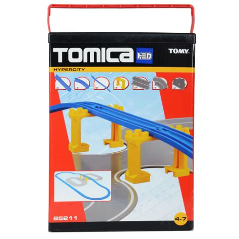 Terbaru Tomica Gift Set Engines childrens tomy tomica hypercity road rail extention pack