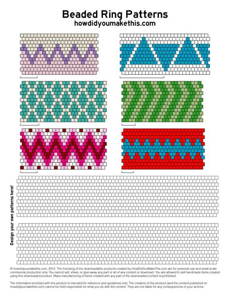 pattern paper beads 878 best images about peyote brick stitch patterns on