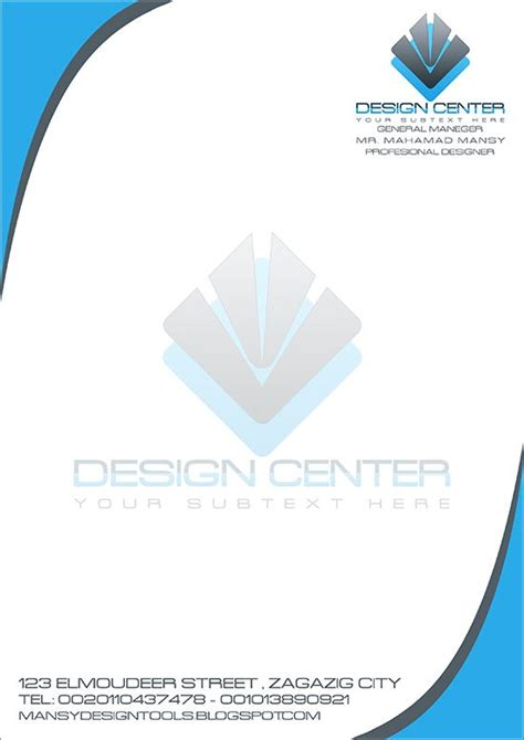 professional letterheads templates free 17 best ideas about free letterhead templates on