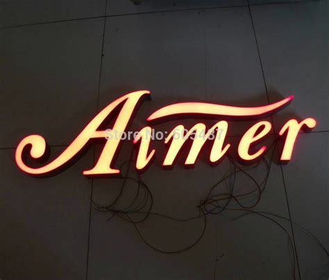 Online Get Cheap Outdoor Lighted Business Signs Outdoor Lighted Signs