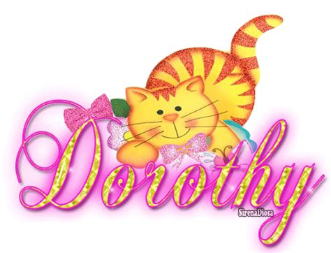dorothy s name glitter graphics the community for graphics enthusiasts