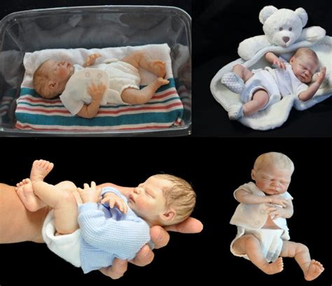 Slip On Reborn zachy mini 10 baby doll kit by marita winters for reborn