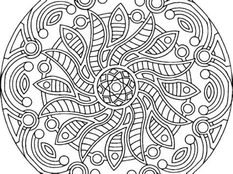 printable coloring pages for young adults free printable mandalas coloring pages adults