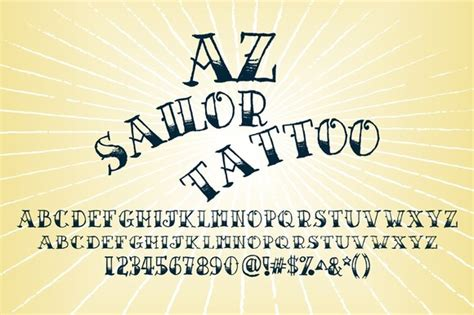 classic tattoo font 20 cool fonts for your next vintage design
