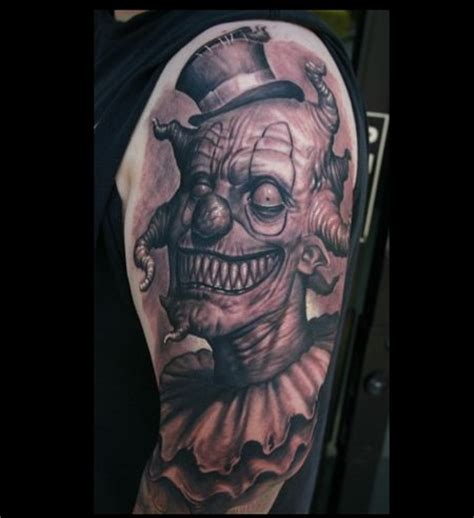 clown monsters tattoo pictures to pin on pinterest