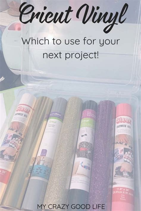 Which Cricut Grip Do You Use With Vinyl - cricut projects which vinyl to use my