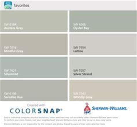 sherwin williams austere gray oyster bay mindful gray lattice silvermist silver strand sensible
