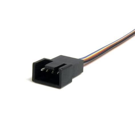 4pin To 4 Pin Extention Extension Sambungan Extender Cpu Fan Mobo Atx 4 Pin Fan Power Extension Cable 1ft Startech