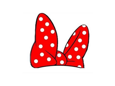 minnie bow template minnie mouse silhouette clipart best
