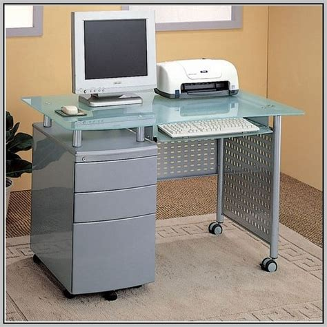 Computer Desk With Locking Drawer Computer Desk With Locking Drawer