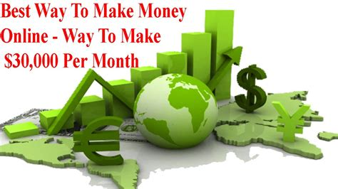 Best Way Of Making Money Online - best way to make money online way to make 30 000 per month so simple john schultz