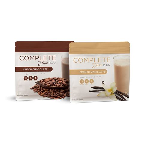 protein juice mix complete by juice plus nutrition bars chocolate
