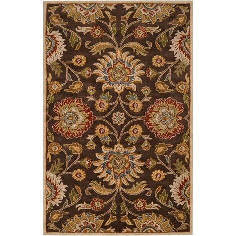 2 x 3 accent rugs artistic weavers artes chocolate 2 ft x 3 ft accent rug