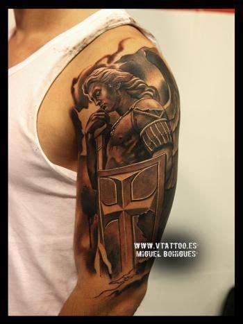 san miguel tattoo tatuaje estatua san miguel arc 225 ngel miguel bohigues