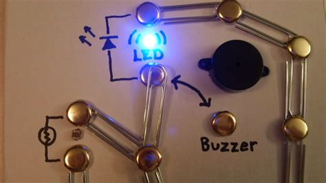 how to make a simple circuit for build a simple circuit from a pizza box no soldering