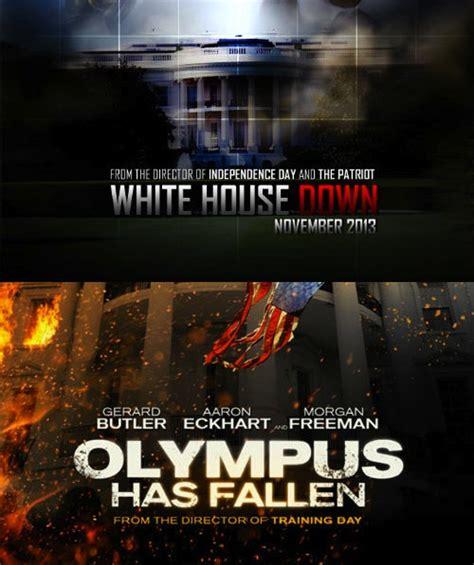 white house down vs olympus has fallen 2013 paul ranks the blockbusters scannain