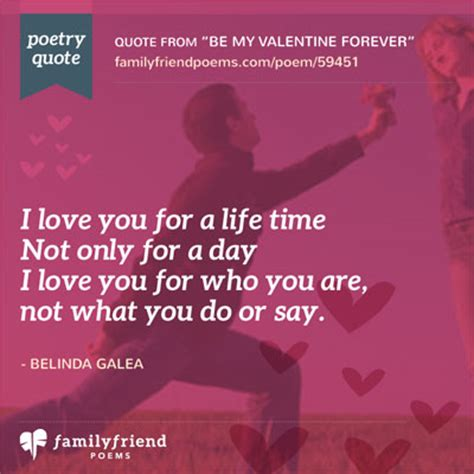 valentines message for my family and friends be my forever poem