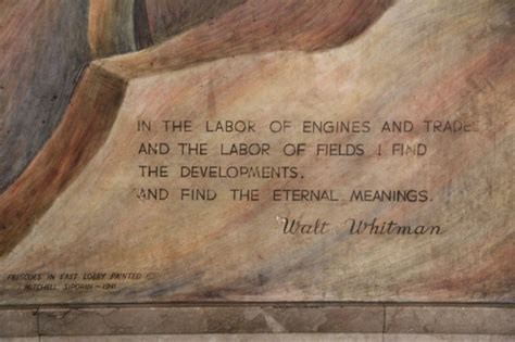 Whitman Post Office by Post Office Murals St Louis Mo Living New Deal