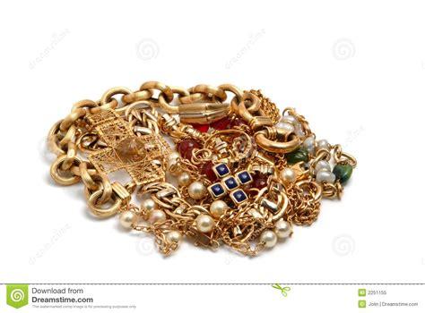 jewelry gold treasure stock image image of gorgeous