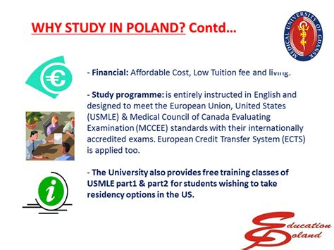 Best Universities In Poland For Mba by Courses In Poland Education Poland
