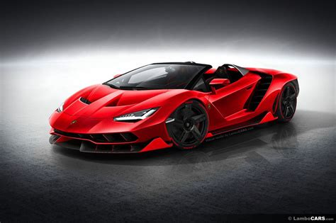 Lamborghini Fotos This Is What Lamborghini Centenario Roadster Should Look Like