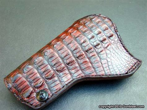 simply rugged new crocodile skin holsters from simply rugged