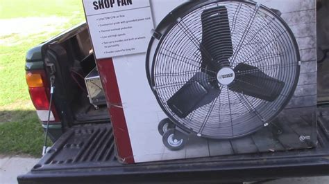 shop fan harbor freight harbor freight 24 quot shop fan