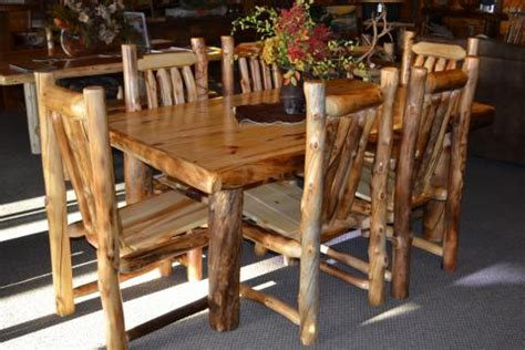 diningroom rustic furniture mall by timber creek aspen dining tables rustic furniture mall by timber creek