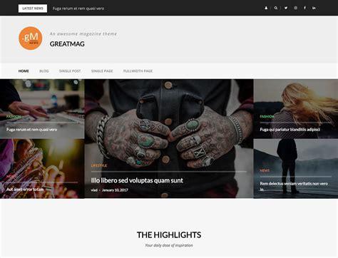 design magazine theme 40 best free wordpress magazine themes 2018 athemes