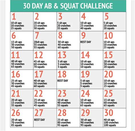 squats and abs challenge squat ab challenge gettin my fitness on