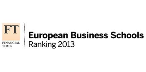Ft Mba Ranking 2014 Europe by Financial Times Hhl Erneut Aufsteiger Des Jahres Im