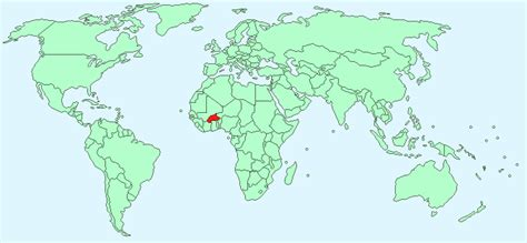 burkina faso world map burkina faso facts and figures