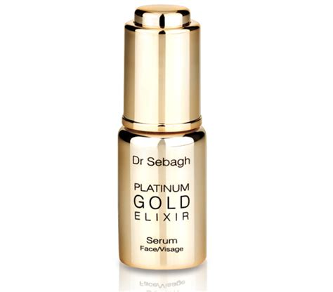 Serum Platinum Gold most expensive products anti aging the authority newbeauty