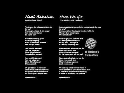 valentina lyrics alaska translation tarkan hadi bakal箟m lyrics and translation in