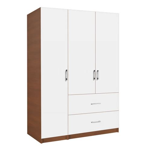 white closet armoire alta wardrobe armoire package 3 door 2 drawer package left contempo space