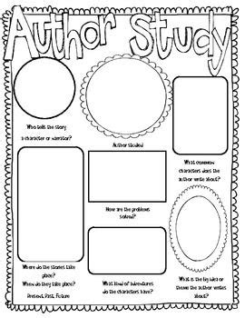 printable graphic organizer for author s purpose author study worksheet free worksheets library download