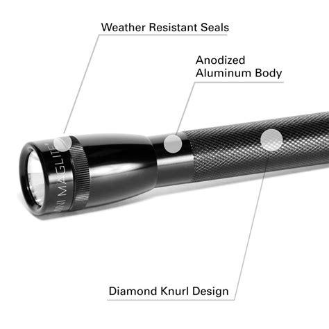 Led Light Aa Cd1 Lxl281 maglite mini pro led 281 lumens 2 cell aa flashlight in presentation box black