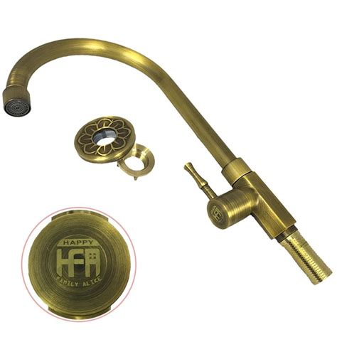 2018 vintage brass kitchen faucet bathroom bronze faucets