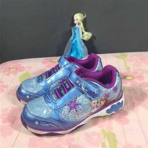 disney light up shoes 40 disney other disney frozen light up sneakers