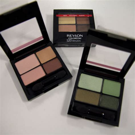 Eyeshadow Revlon Review review and swatches revlon colorstay 16hr eyeshadow quads